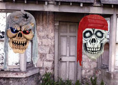 hanging skull decorations