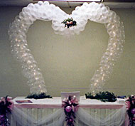 balloon garland arch