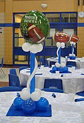 football centrepiece