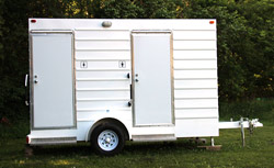 deluxe trailer portable toilet
