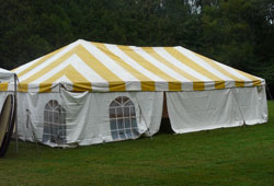 Tent with Side Panels
