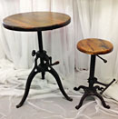 Vintage stool & table